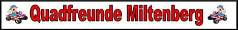 Banner Quadfreunde Miltenberg