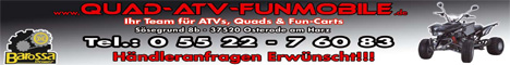 Banner Quad ATV Funmobile