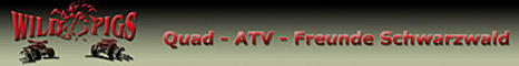 Banner Quad & ATV Freunde Schwarzwald
