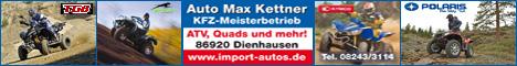 Banner Auto Max Kettner / Quad-Funmobile