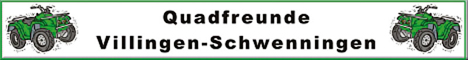 Banner Quadfreunde Villingen-Schwenningen