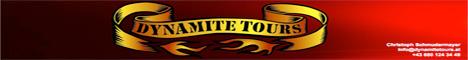 Banner Dynamite Tours