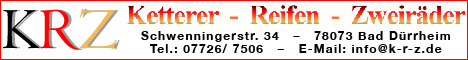 Banner KRZ Ketterer Reifen Zweiräder