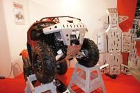 Storm: Bumper und Skid-Plates aus 4 mm dickem, eloxiertem Aluminium