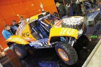 Maxxis / Goldspeed: Race-Buggy von Schuurman auf dem Maxxis-Stand in Mailand