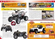 ATV&QUAD Magazin 2012/03, Seite 10-11: Aeon, neue Cobra und Crossland 400; CubCadet räumt Preise ab