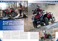 ATV&QUAD Magazin 2012/03, Seite 16-17, Fahrbericht CF Moto Terralander 800: Angriff aufs ATV-Oberhaus