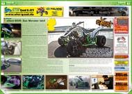 ATV&QUAD Magazin 2012/03, Seite 60-61, Szene Deutschland PLZ 5, SJ Racing eXeet 600R: Das Monster lebt!