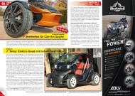ATV&QUAD Magazin 2012/04, Seite 16-17, Aktuell: Frank Wunderle bietet Breitreifen für Can-Am Spyder; Renault Twizy: Elektro-Quad mit hohem Spaßfaktor