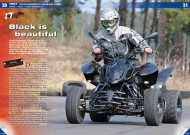 ATV&QUAD Magazin 2012/04, Seite 30-35, Test: Triton SuperMoto 450 Black Lizard