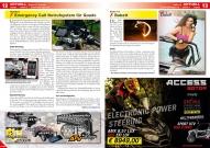 ATV&QUAD Magazin 2016/09-10, Seite 12-13, Aktuell News & Trends / Seite 13; digades: Emergency Call Notrufsystem für Quads; Seite 13: Babett