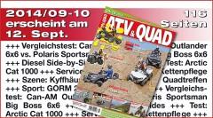 Galerie: ATV&QUAD Magazin 2014/09-10