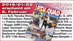 Galerie: ATV&QUAD Magazin 2015/01-02