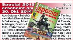 Galerie: ATV&QUAD Special 2015 – Ausrüstung • Zubehör • Tuning
