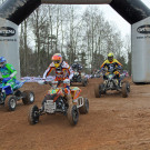 GCC German Cross Country 2013, 1. Lauf in Triptis: Start Klasse 'Quad'; Bild: Baboons