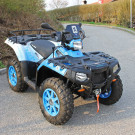 HP Gelndewagentechnik, 20 Years HP Limited Modell Polaris Sportsman XP 850 Wei-Blau TSV 1860 Mnchen