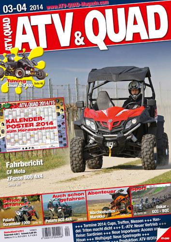 ATV&QUAD Magazin 2014/03-04
