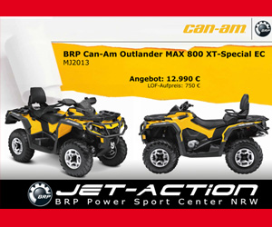 Jet-Action, Outlander MAX 800 XT Special