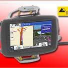Touratech: Lenkerhalterung für das Zumo 590, das neue Top-Navigationsgerät von Garmin für ATVs, Quads und Bikes