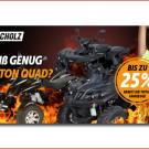 Triton Rabatt-Aktion: Roller Scholz und Runo´s Rollerwelt bieten aktuelle ATVs und Quads von Triton aktuell mit bis zu 25 Prozent Nachlass an