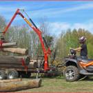 KSR Group, Kooperation mit MaschinenRing: Holzrücke-Arbeiten in sensiblem Gelände