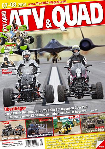 ATV&QUAD Magazin 2014/07-08