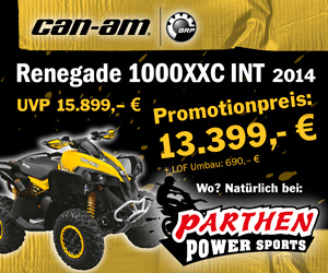 Parthen Can-Am Renegade 1000 Xxc