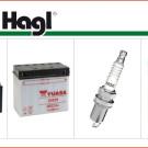 Filter, Batterien und Zündkerzen: Serviceteile und Zubehör in Erstausrüster-Qualität zu attraktiven Preisen bei Hagl in München