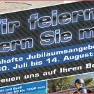 Roel Jubiläums Angebote 2014: saftige Rabatte bis 14. August