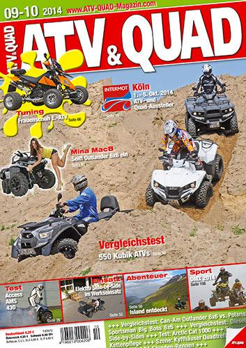 ATV&QUAD Magazin 2014/09-10