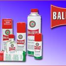 Unterschiedliche Produkte der Ballistol Quad Pflegemittelserie