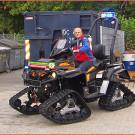 Bergwacht Schwarzwald: erhielt Can-Am Outlander G2 von Hans Baumgartner aus Lenggries
