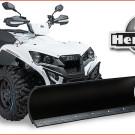 Herkules Motor: Schneeschild für Cectek und Adly