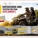 Can-Am Offroad Days 2014: Aktionswochenende vom 7. bis 10. November 2014