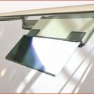 Blitz Blende: Visu-Car-Dark ist von innen transparent und wirkt von außen wie ein Spiegel