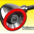 Kellermann Bullet 1000: patentierter Blinker / Rücklicht-Blinker in Form eines Projektils mit Straßenzulassung für Zwei- und Vierräder