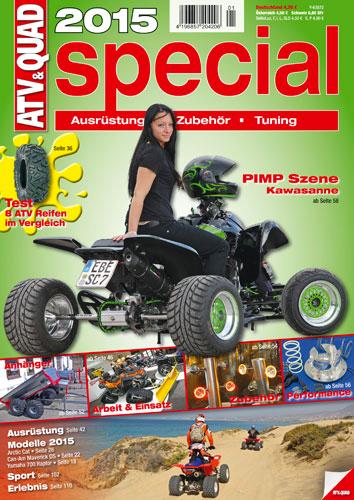 ATV&QUAD Special 2015 Ausrüstung • Zubehör • Tuning