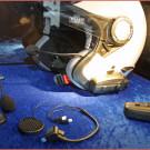 Acewell Helmsprechanlage Aloha mit Bluetooth 4.0 Technik für eine Kommunikation über bis zu 1.500 Meter