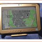Outdoor Tablet Panasonic FZ-G1: Hoch robuster Tablet PC für den Einsatz zur Offroad-Navigation mit Sonderausstattungs-Paket von Trophy-Tec