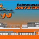 Megastore in Lichtenfels: Fahrzeugzentrum Dietz mit 3.000 m2 überdachter Nutzfläche