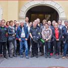 Platz 3 für Scholly´s: Die Preisverleihung zum Händler des Jahres 2014 hat in Würzburg stattgefunden