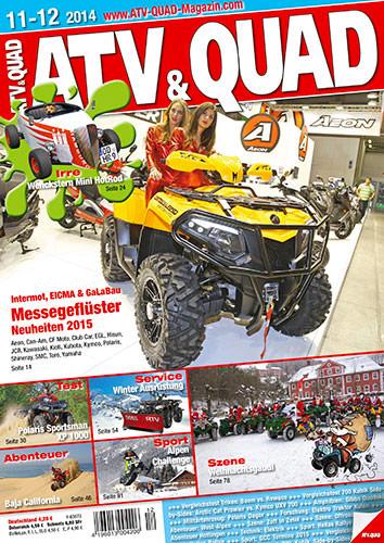 ATV&QUAD Magazin 2014/11-12