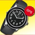 Limmex Notruf Uhr mit integriertem GPS-Modul: Rettungsorganisationen und Hilfspersonen können außerhalb von Gebäuden präzise bestimmen, wo sich der Uhrenträger aufhält