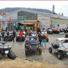 Bürgin Ausstellung 2015: am 9. und 10. Mai bei AQB Auto Quad Bürgin in Laufenburg, gerade mal 800 Meter von der Schweizer Grenze entfernt