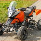 E.-ATV 1190 Adventure: neue Maßstäbe beim Einsatz auf Reisen in ferne Länder ebenso wie beim alltäglichen Gebrauch im Großstadt-Dschungel