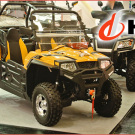 Für 2015 bietet Karcher zwei Hisun UTV 250 Modelle: UTV 250 EFI Sport