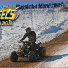 Can-Am 4 Wheels Eliminator Race 2015: Schneerennen in der Skiarena Heubach am 13. Februar 2015 für Quads, ATVs und Side-by-Sides aller Marken