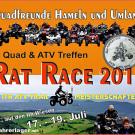 Das Rat Race 2015 und 1. Ith ATV Trail Meisterschaften: Quad-Wochenende vom 17. bis 19. Juli 2015 mit buntem Programm
