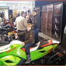 Motorradwelt Bodensee 2015: das Quadcenter Zollernalb präsentierte seine Prämium-Marken