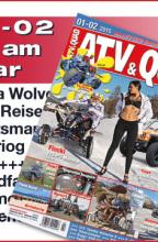 ATV&QUAD Magazin 2015/01-02: ab 6. Februar 2015 am Kiosk